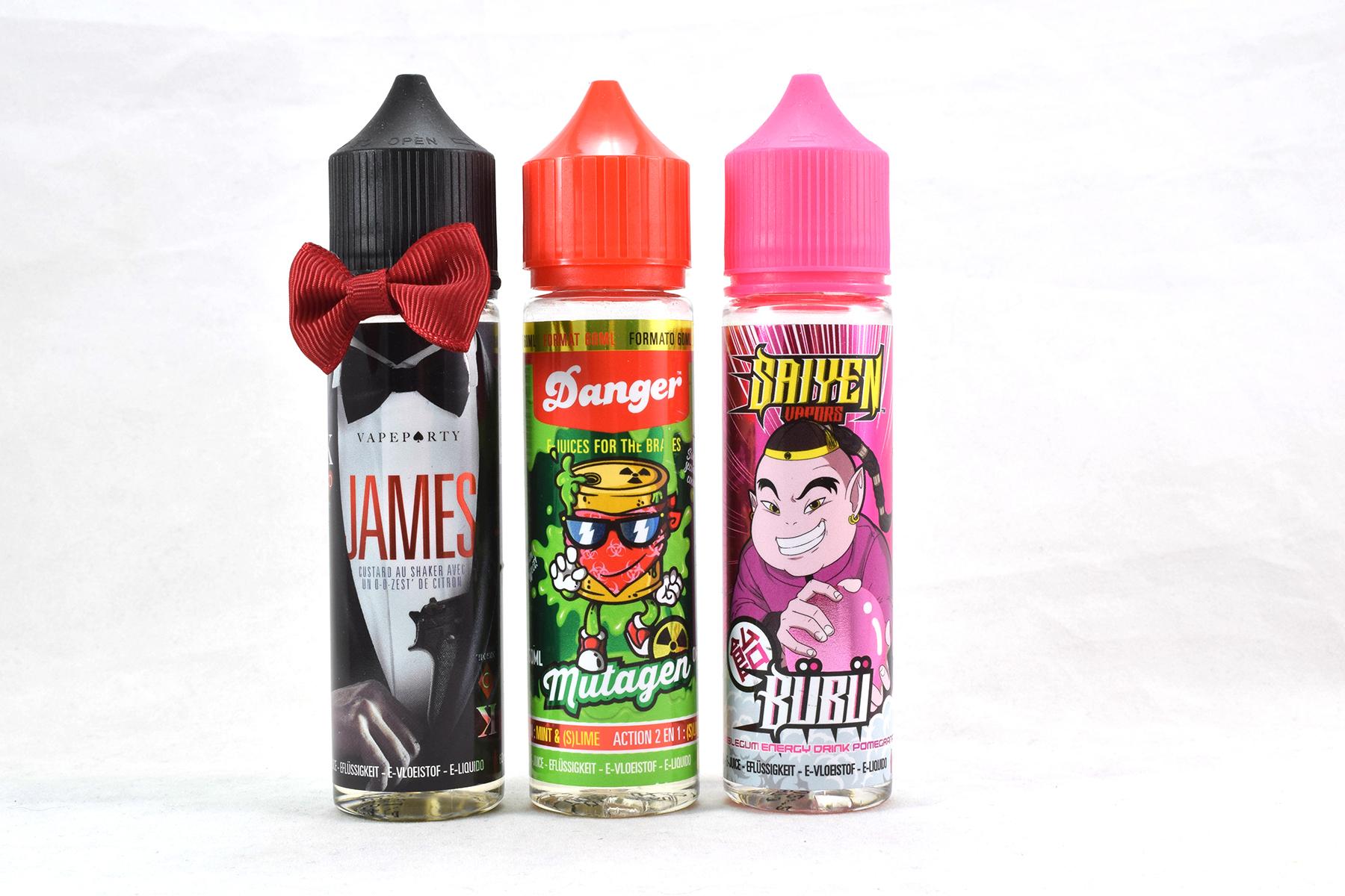 Gammes Swoke : 3 e-liquides testés