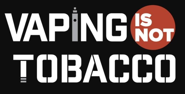 Signez la consultation européenne Vaping is not Tobacco