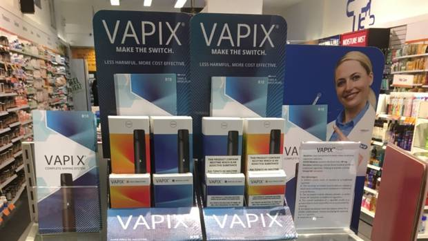 Nouvelle-Zélande : des e-cigarettes en pharmacie