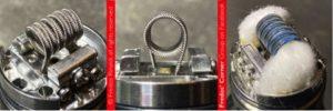 Wotofo montage single coil